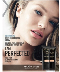 Max Factor CC Colour Correcting Cream SPF 10 -  85 Bronze