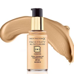 Max Factor Facenity Flawless 3 in 1 Foundation SPF20- Sun Beige