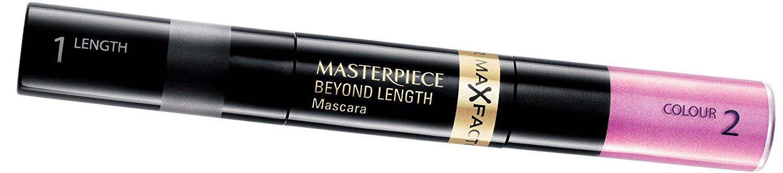Max Factor Masterpiece Beyond Length Mascara - 110 Blazing Black/Pink