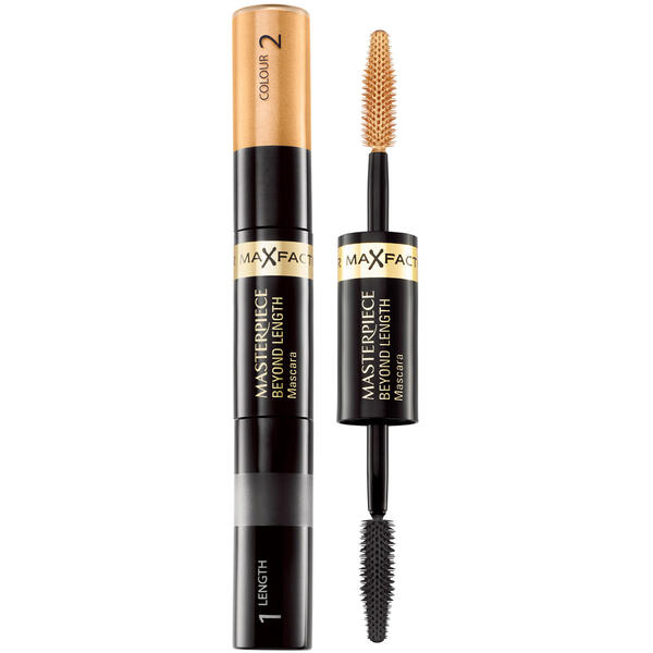 Max Factor Masterpiece Beyond Length Mascara - Tanned Black/Bronze