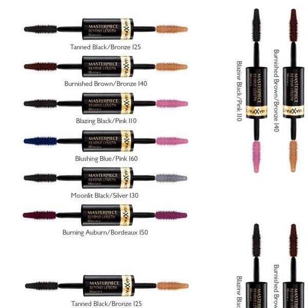 Max Factor Masterpiece Beyond Length Mascara - 160 Blushing Blue/Pink