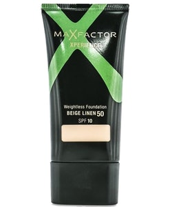 Max Factor Xperience Weightless Foundation SPF10 - 50 Beige Linen
