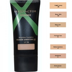 Max Factor Xperience Weightless Foundation SPF10 - 60 Medium Sandstone