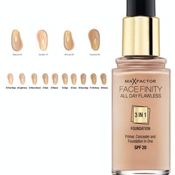 Max Factorfinity All Day Flawless 3-in-1 Foundation SPF20 - Caramel