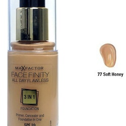 Max Factorfinity All Day Flawless 3-in-1 Foundation SPF20 - Soft Honey