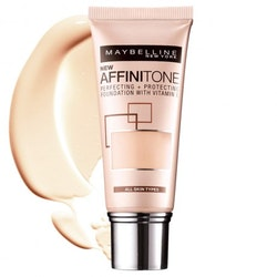 Maybelline Affinitone Perfect&Protect Foundation-Light Porcelain