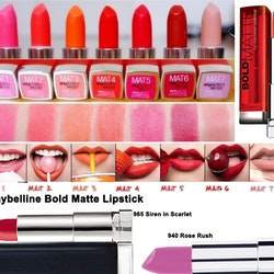 Maybelline Color Sensational BOLD Matte Lipstick-940 Rose Rush