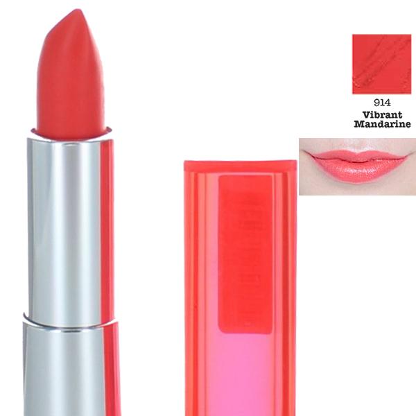Maybelline Color Sensational Lipstick - 914 Vibrant Mandarin