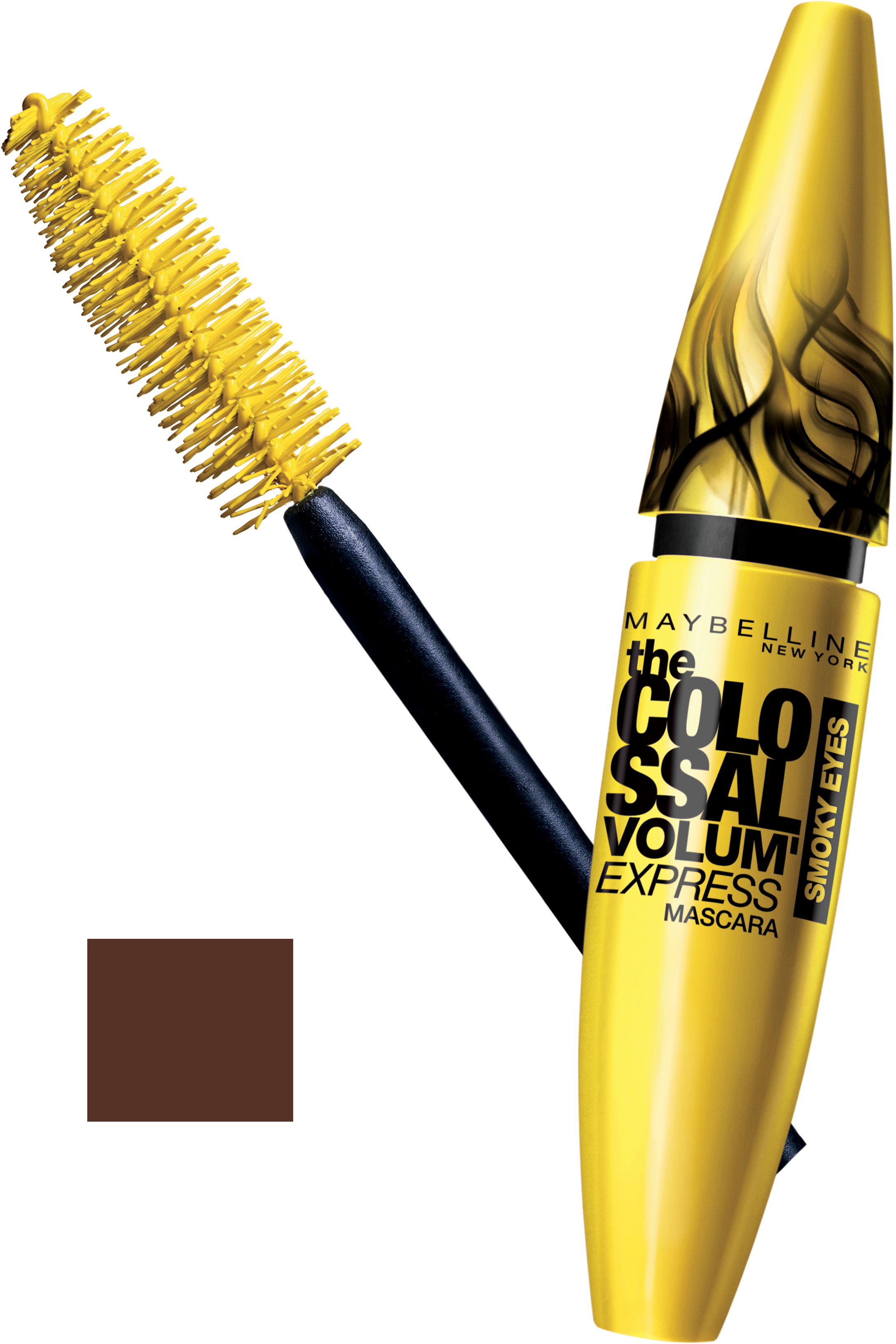 Maybelline Colossal Volum Express Smoky Eyes Mascara-Smoky Brown