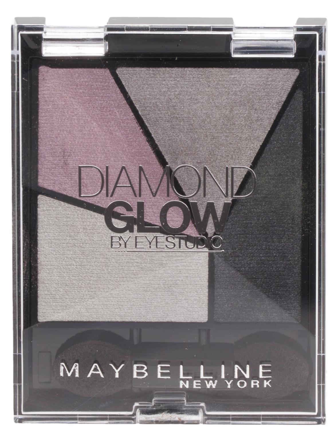 Maybelline Diamond Glow Pearl Quad Eye Shadow -  04 Grey Pink Drama