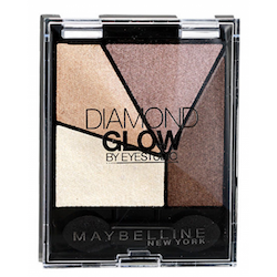 Maybelline Diamond Glow Pearl Quad Eye Shadow - 02 Coral Drama