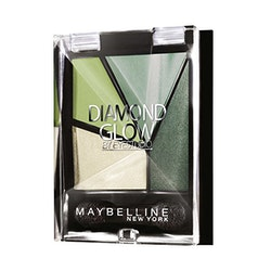 Maybelline Diamond Glow Pearl Quad Eye Shadow - 05 Forest Drama