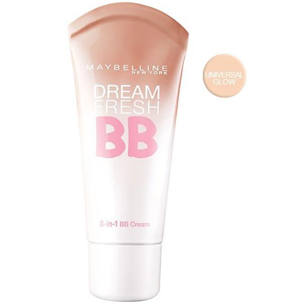 Maybelline Dream Fresh BB Cream 8 in 1-Universal Glow SPF30
