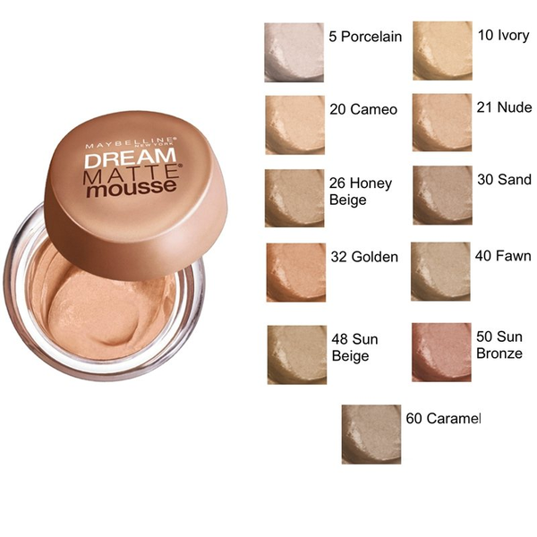 Maybelline Dream Matte Mousse Foundation - Sand