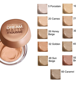 Maybelline Dream Matte Mousse Foundation SPF15 - Golden