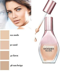Maybelline Dream Nude Wonder Fluid-Touch Foundation 20ml - Natural Beige