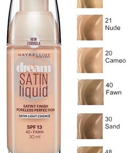 Maybelline Dream Sating Liquid Foundation SPF 13 - 40 Fawn