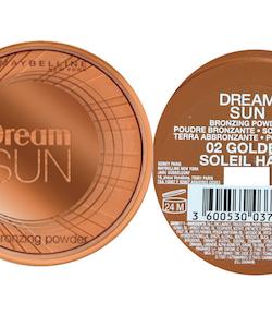 Maybelline Dream Sun Bronzing Powder Compacet - 02 Golden
