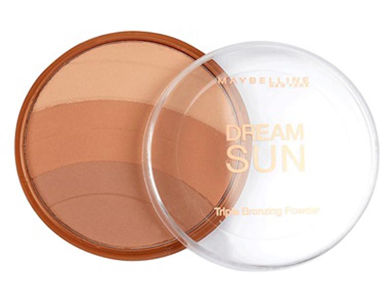 Maybelline Dream Sun Triple Bronzing Powder - 02 Brunette