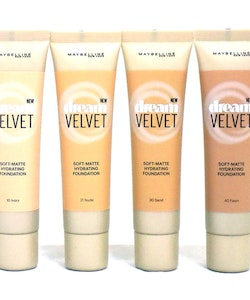Maybelline Dream Velvet Soft-Matte Hydrating Foundation-10 Ivory