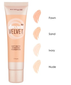 Maybelline Dream Velvet Soft-Matte Hydrating Foundation-21 Nude