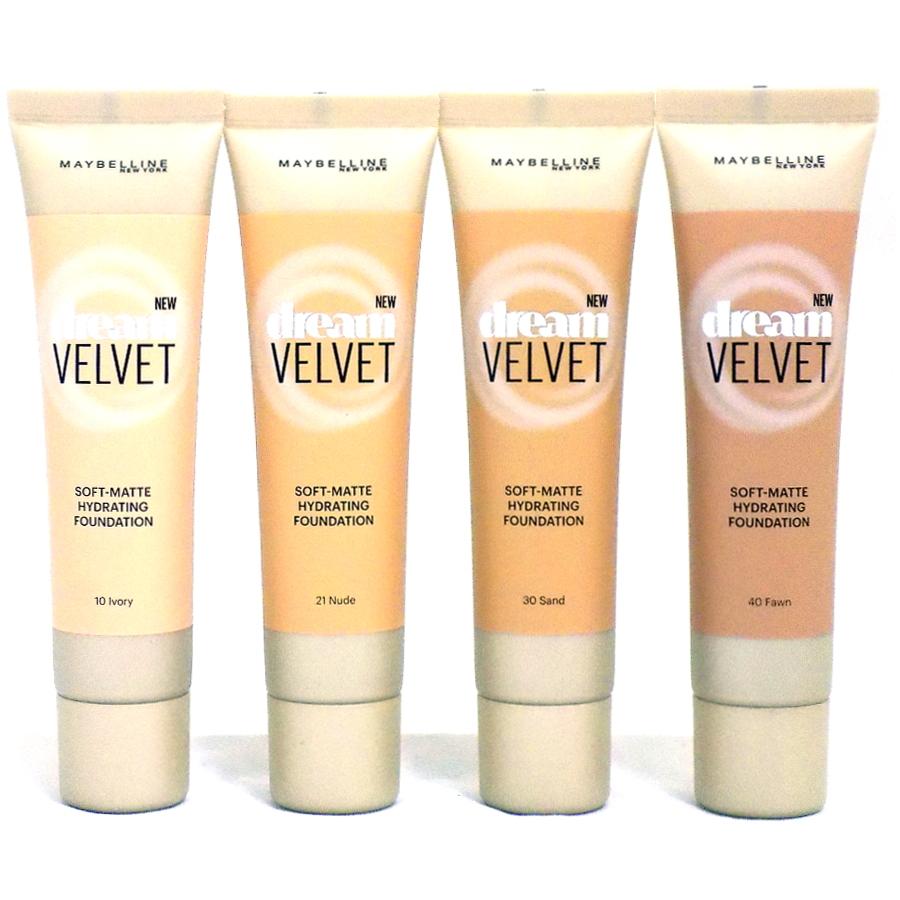 Maybelline Dream Velvet Soft-Matte Hydrating Foundation-21 Nude