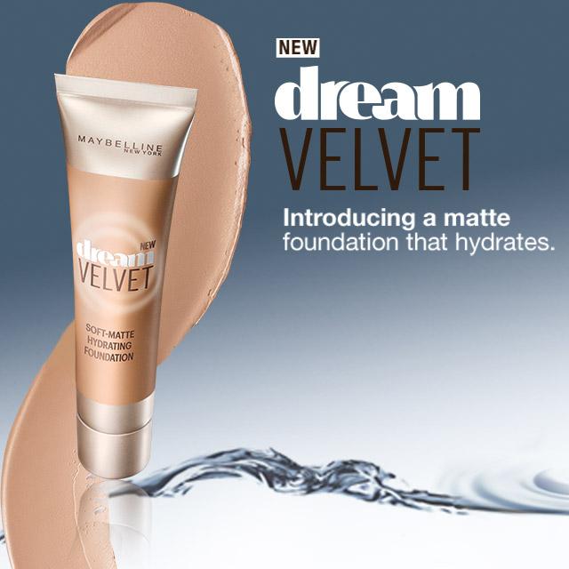 Maybelline Dream Velvet Soft-Matte Hydrating Foundation-40 Fawn