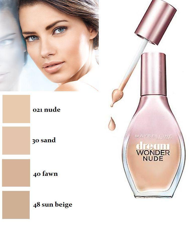Maybelline Dream Wonder Nude Fluid-Touch Foundation 20ml-Sand