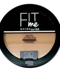 Maybelline Fit Me Matte & Poreless Pressed Powder - 130 Buff Beige