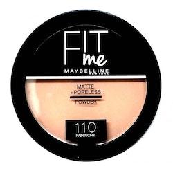 Maybelline Fit Me Matte & Poreless Pressed Powder-110 Fair Ivory