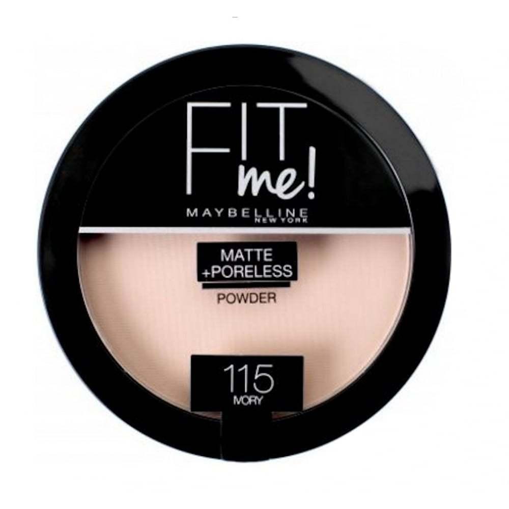 Maybelline Fit Me Matte & Poreless Pressed Powder-115 Ivory