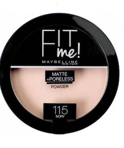 Maybelline Fit Me Matte & Poreless Pressed Powder-115 Ivory