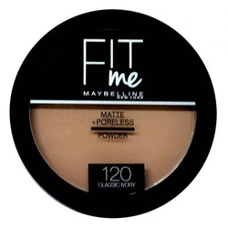 Maybelline Fit Me Matte & Poreless Pressed Powder-120 Classic Ivory