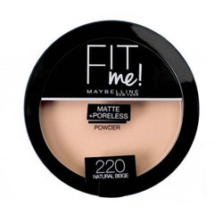 Maybelline Fit Me Matte & Poreless Pressed Powder-220 Natural Beige