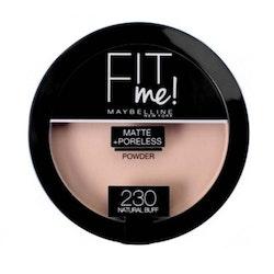 Maybelline Fit Me Matte & Poreless Pressed Powder-230 Natural Buff