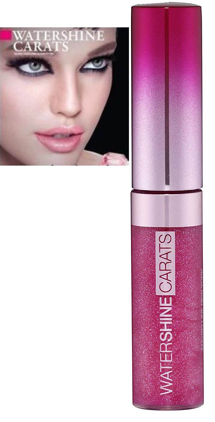 Maybelline Gemey Water Shine Lipgloss -173 Pink Dazzle