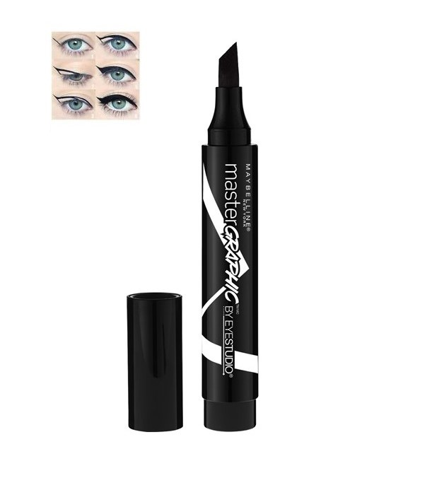 Maybelline Master Graphic Liquid Marker Eyeliner - Bold Black