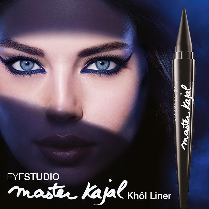 Maybelline Master Kajal Kohl Liner - Pitch Black