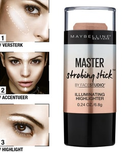 Maybelline Strobing Stick Illuminating Highlighter-Nude Glow