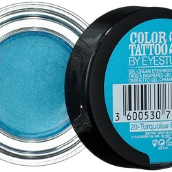 Maybelline Studio ColorTattoo 24Hr Creamy Gel Eyeshadow-Turquoise Forever