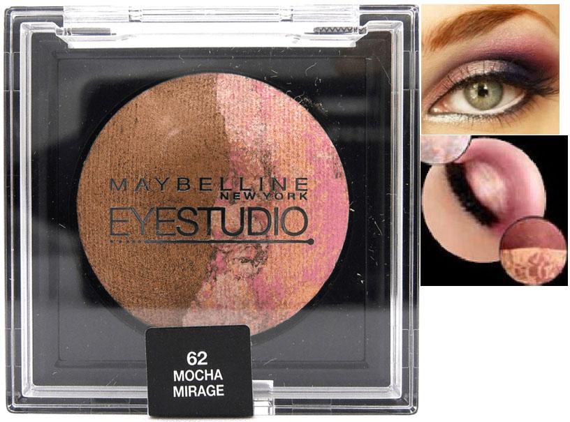 Maybelline Studio Hypercosmos Baked Duo Eyeshadow - Mocha Mirage