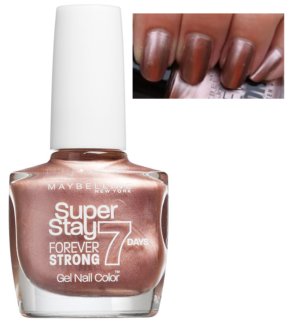 Maybelline Super Stay 7 Days GEL Effect Polish - 19 Golden Brown