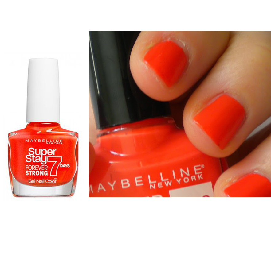 Maybelline Super Stay 7 Days GEL Effect Polish - 460 Couture Orange