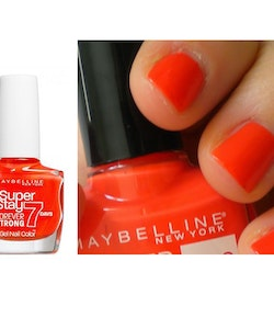 Maybelline Super Stay 7 Days GEL Effect Polish - 460 Couture Orange