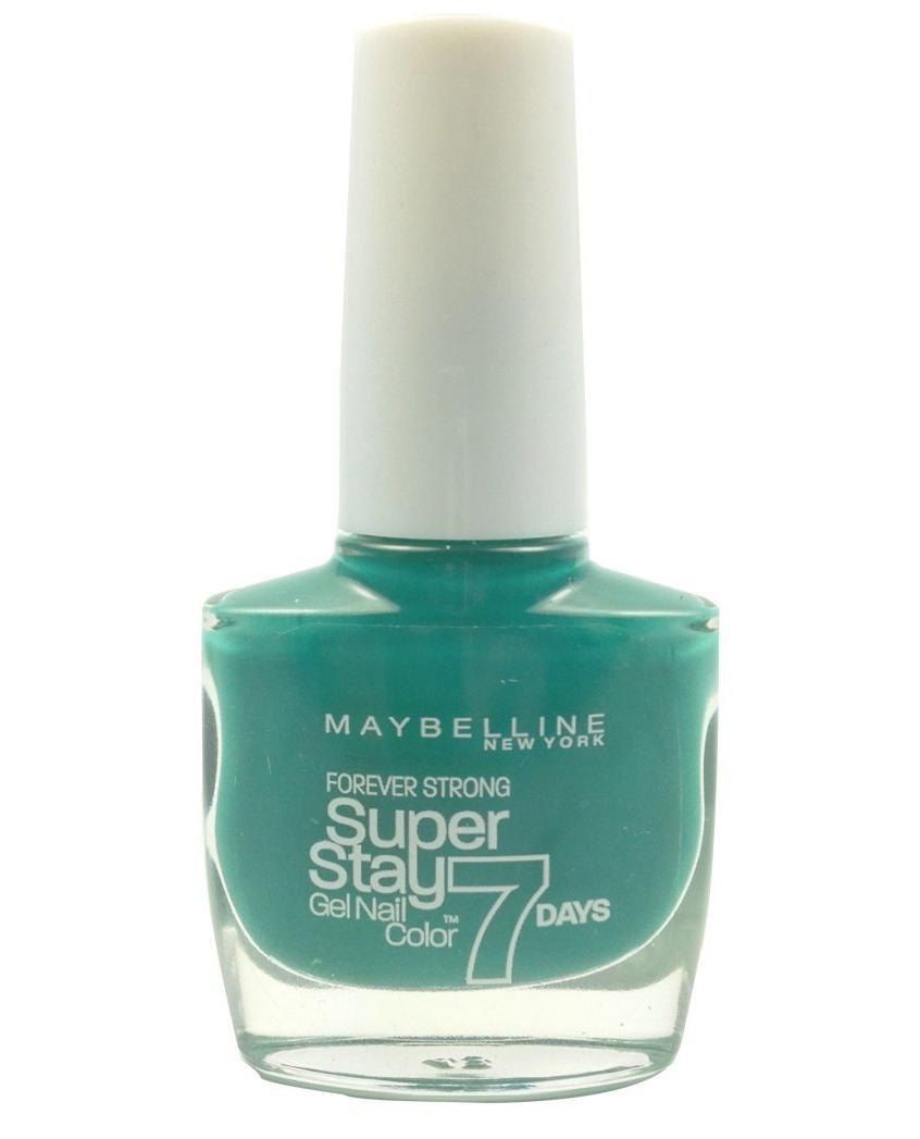 Maybelline Super Stay 7 Days GEL Effect Polish - 605 Hyper Jade