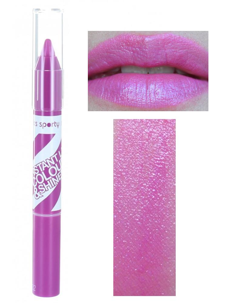 Miss Sporty Instant Lip Colour & Shine - 003 Candy Plum