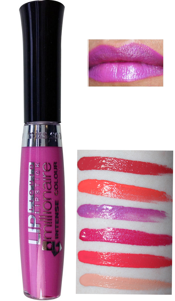 Miss Sporty Millionaire Intense Liquid Lipstick - Violet Crush