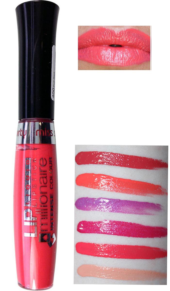 Miss Sporty Millionaire Intense Liquid Lipstick -102 Full Peach