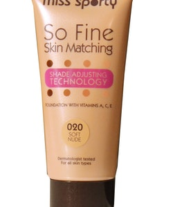 Miss Sporty So Fine Skin Matching Foundation - 020 Soft Nude