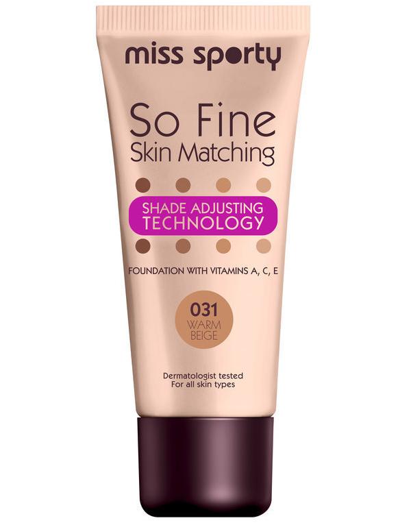 Miss Sporty So Fine Skin Matching Foundation - 031 Warm Beige